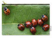 One Lady Bug Voted Off The Island Carry-all Pouch