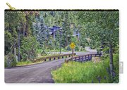 One Lane Bridge - Vail Carry-all Pouch