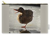 One-legged Duck Carry-all Pouch