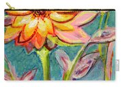 One Pink Flower Carry-all Pouch