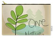 One With Nature Carry-all Pouch by Linda Woods