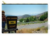 Only You Can Prevent Wildfires Carry-all Pouch