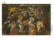 Open Air Wedding Dance Carry-all Pouch by Pieter the Younger Brueghel
