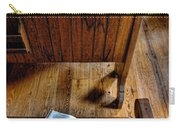 Open Book On Church Pew Carry-all Pouch