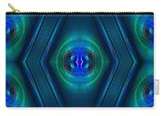 Optical Blue Carry-all Pouch
