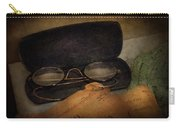 Optometrist - Glasses For Reading  Carry-all Pouch by Mike Savad