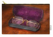 Optometry - Has Anyone Seen My Glasses  Carry-all Pouch by Mike Savad