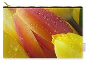 Orange And Yellow Tulips Carry-all Pouch