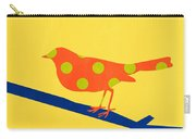 Orange Bird Carry-all Pouch