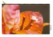 orange Bougainvillea Carry-all Pouch