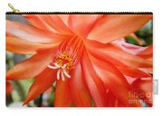 Orange Cactus Carry-all Pouch