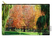 Orange Colored Trees Carry-all Pouch