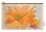 Orange Daisy Carry-all Pouch
