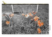 Orange Day Lilies. Carry-all Pouch by Ausra Huntington nee Paulauskaite