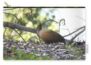 Orange Footed Scrub Fowl Carry-all Pouch
