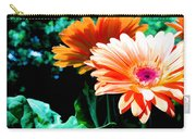 Orange Gerber Daisies Carry-all Pouch