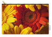 Orange Gerbera Among Yellow Ones Carry-all Pouch