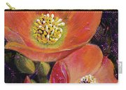 Orange Globe Mallows Carry-all Pouch