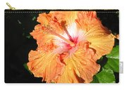 Orange Hibiscus After The Rain 1 Carry-all Pouch
