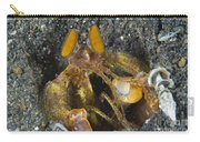 Orange Mantis Shrimp In Its Burrow Carry-all Pouch