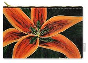Orange Oriental Lily Carry-all Pouch