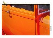 Orange Passenger Door Carry-all Pouch
