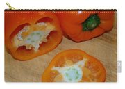 Orange Peppers Carry-all Pouch