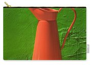 Orange Pitcher Carry-all Pouch