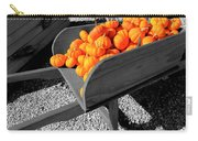 Orange Pumpkin Harvest Carry-all Pouch