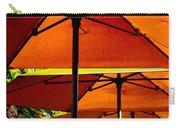 Orange Sliced Umbrellas Carry-all Pouch
