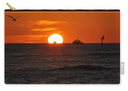 Orange Sunset II Carry-all Pouch