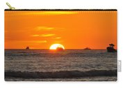 Orange Sunset V Carry-all Pouch