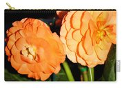 Orange Tuberous Begonias Carry-all Pouch