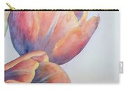 Orange Tulips II Carry-all Pouch