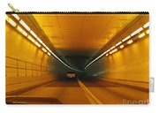 Orange Tunnel In Dc Carry-all Pouch