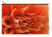 Orange Vanilla Dahlia Carry-all Pouch