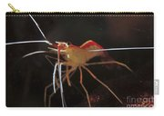 Orange White And Red Shrimp, Bali Carry-all Pouch