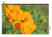 Orange Wildflower Carry-all Pouch