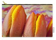 Orange Yellow Tulips Carry-all Pouch