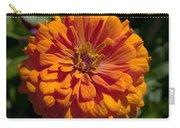 Orange Zinnia Carry-all Pouch
