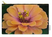 Orange Zinnia_9475_4267 Carry-all Pouch