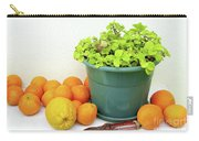 Oranges And Vase Carry-all Pouch