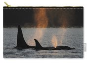 Orca Orcinus Orca Resident Pod Carry-all Pouch