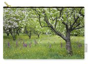 Orchard With Flowering Orchids Carry-all Pouch