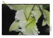 orchid 900 Brassolaeliocattleya Ruben's Verde Chantilly Green Carry-all Pouch