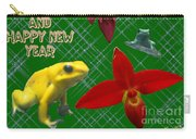 Orchid Gardens Carry-all Pouch