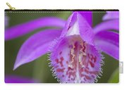 Orchid Pleione Bulbocodioides Flower Carry-all Pouch