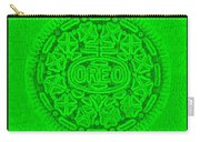 Oreo In Green Carry-all Pouch