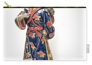 Oriental Lady And Child Carry-all Pouch