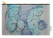 Original Sketch For The Stripper's Mirror Carry-all Pouch